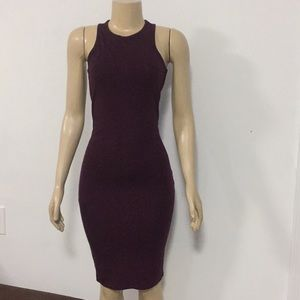 FOREVER 21 Women's Dress res wine size Small